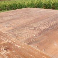 Bartisch Teak Massivholz in 2 Größen