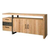 Sideboard Luccas 185 cm 2 Türen 3 Schubladen