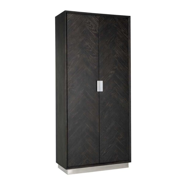Regalschank 220 cm Blackbone silver