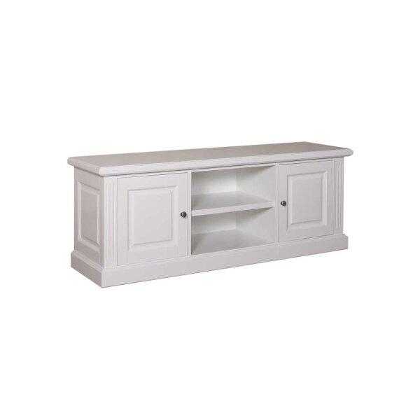 Lowboard White Wiskonsin TV-Board 160 cm  2 Türen