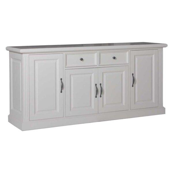 Sideboard White Wiskonsin mit 4 Türen 2 Schubladen