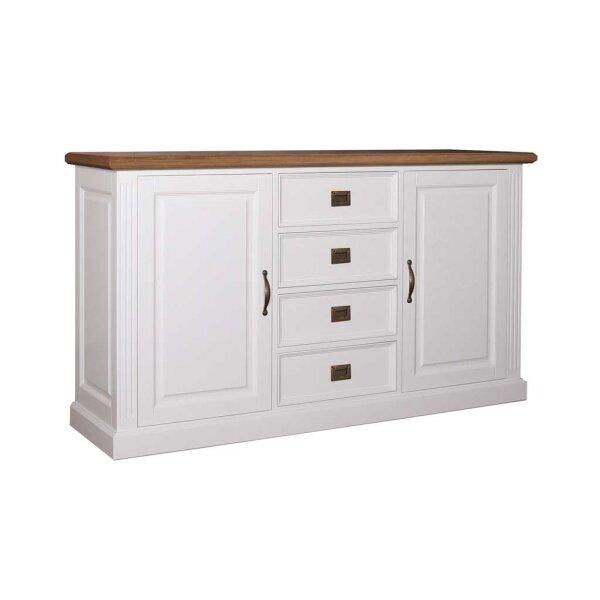 Sideboard White & Oak 177 cm