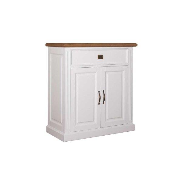 Kommode White & Oak 103 cm