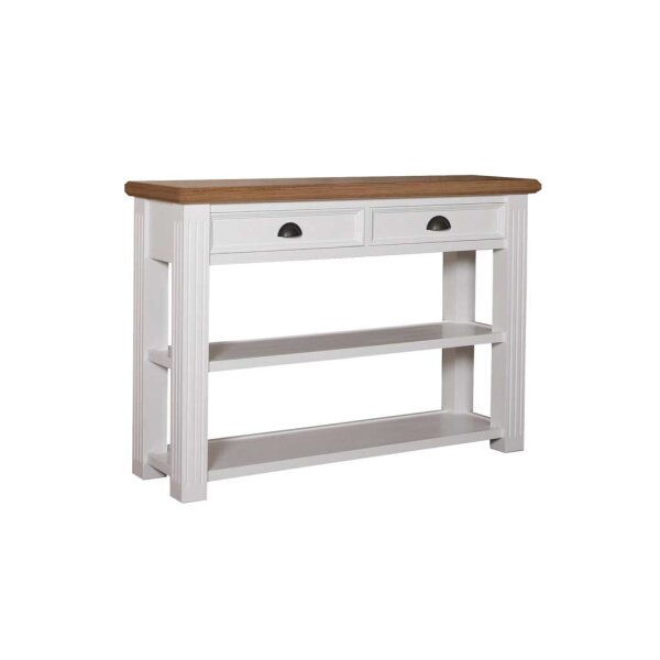 Konsolentisch White & Oak 130 cm Anrichte