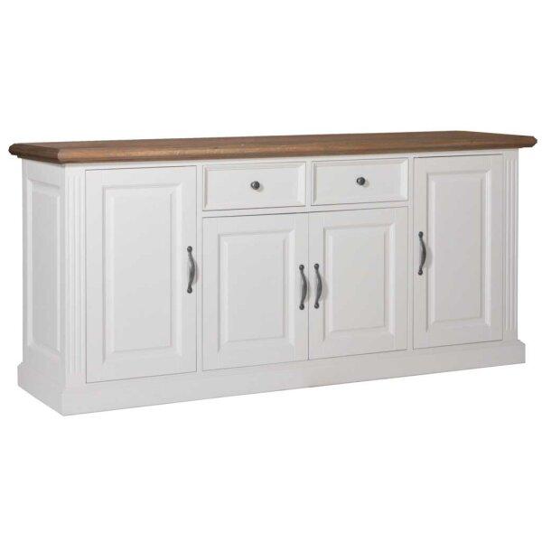 Sideboard White & Oak 190 cm