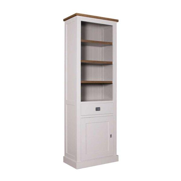 Bücherschrank Kalmar 70 cm Türanschlag links