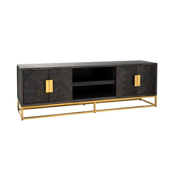 TV Board 185 cm Blackbone gold