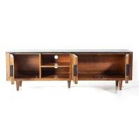 TV Lowboard Carter Mango & Marmor 180 cm