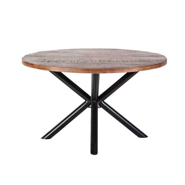 Esszimmer Tisch rund Mangoholz 130 cm