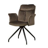 Armlehnen Polster Stuhl Rota 180 Grad drehbar 3 Farben