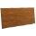 Tischplatte 5cm Baumkante Teak Kasar hell in 2 Größen