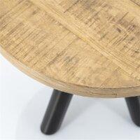 Couchtisch Mango Holz Otto rund 50x50 cm