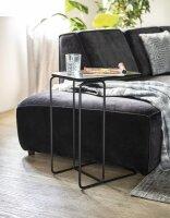 Couch Beistelltisch Jean Aluminium