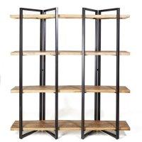 Bücherregal Eddy Mango Regal 160 cm