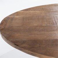 Esstisch oval Oscar Mango Holz in 2 Größen