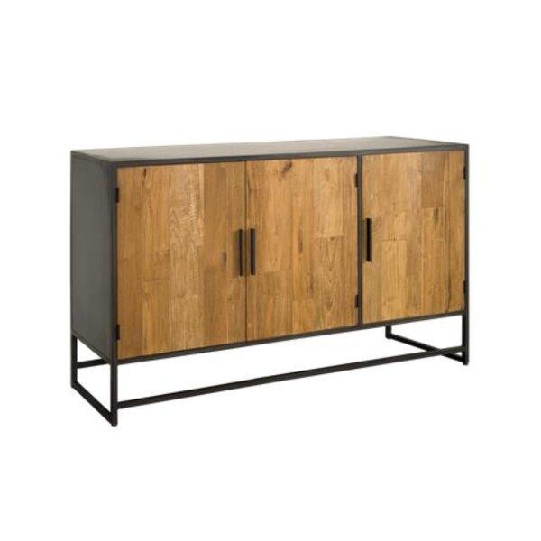 Sideboard Felino160 cm 3 Türen Teak