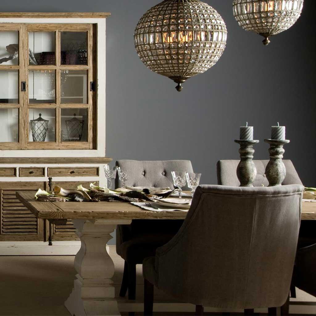 klostertisch armando shabby chic 240 cm restyle24. Black Bedroom Furniture Sets. Home Design Ideas