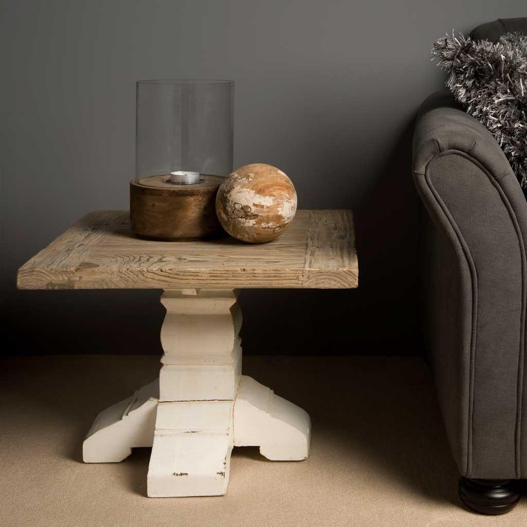 beistelltisch armando shabby chic 60 x 60 cm restyle24. Black Bedroom Furniture Sets. Home Design Ideas