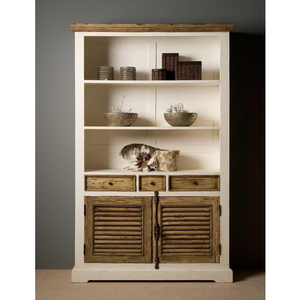 Bücherschrank Armando Shabby Chic 120 cm | Restyle24