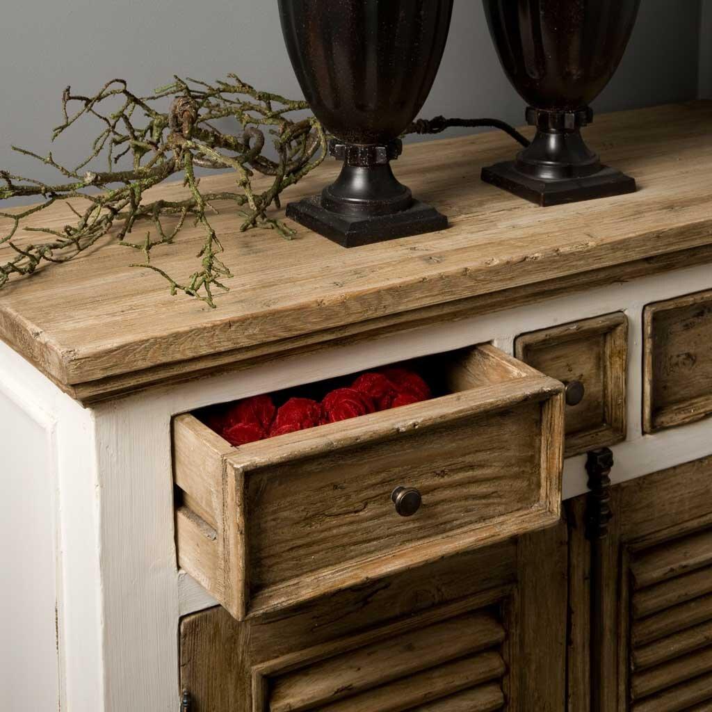 sideboard armando shabby chic 200 cm restyle24. Black Bedroom Furniture Sets. Home Design Ideas