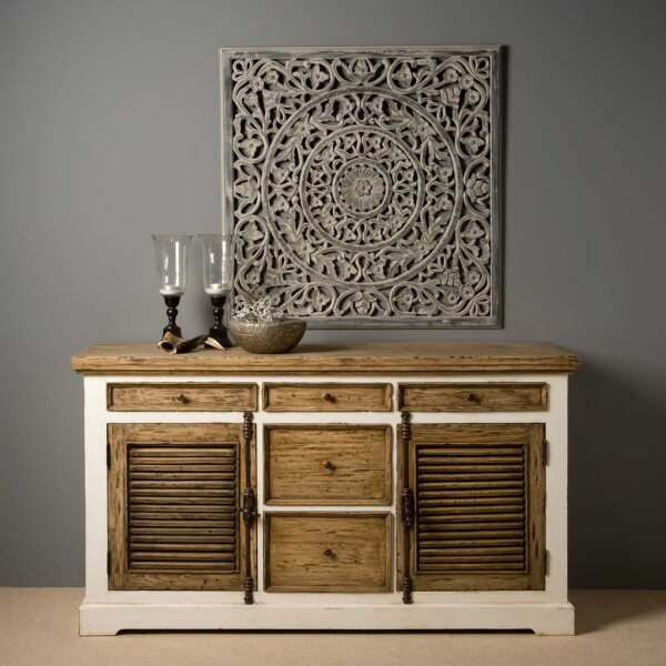 sideboard armando shabby chic 160 cm restyle24. Black Bedroom Furniture Sets. Home Design Ideas