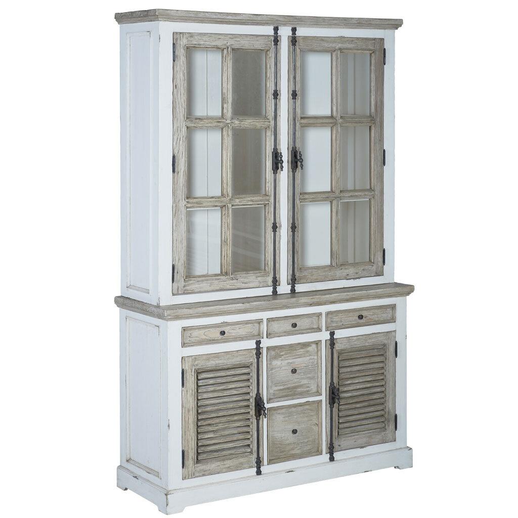 tv board armando shabby chic 190 cm restyle24. Black Bedroom Furniture Sets. Home Design Ideas