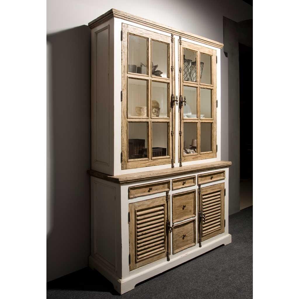 buffetschrank armando shabby chic 140 cm restyle24. Black Bedroom Furniture Sets. Home Design Ideas