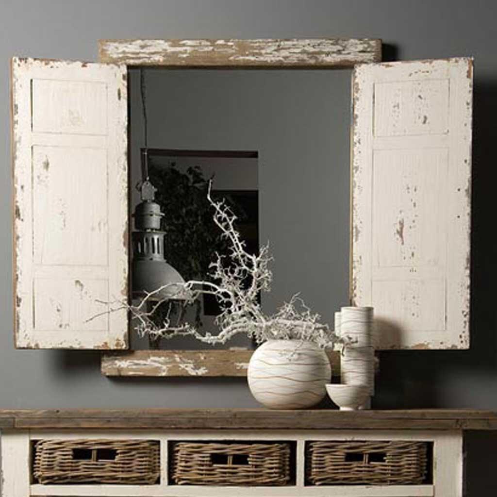 landhaus spiegel daana shabby chic restyle24. Black Bedroom Furniture Sets. Home Design Ideas