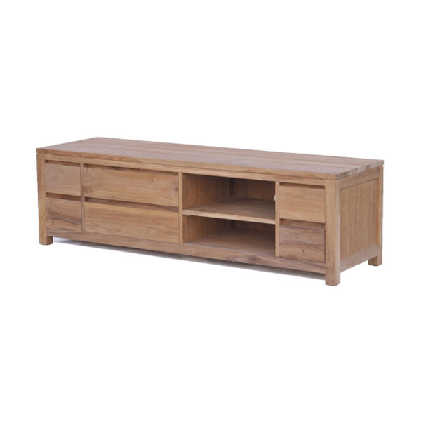 Tv sideboard holz  Hochwertige Teak TV Boards aus Holz online bestellen | Restyle24.de