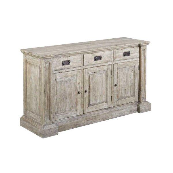 monzas sideboard aus altem holz 3 schubladen restyle24. Black Bedroom Furniture Sets. Home Design Ideas