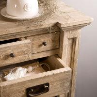 Hochkommode Monzas aus altem Kiefern Holz