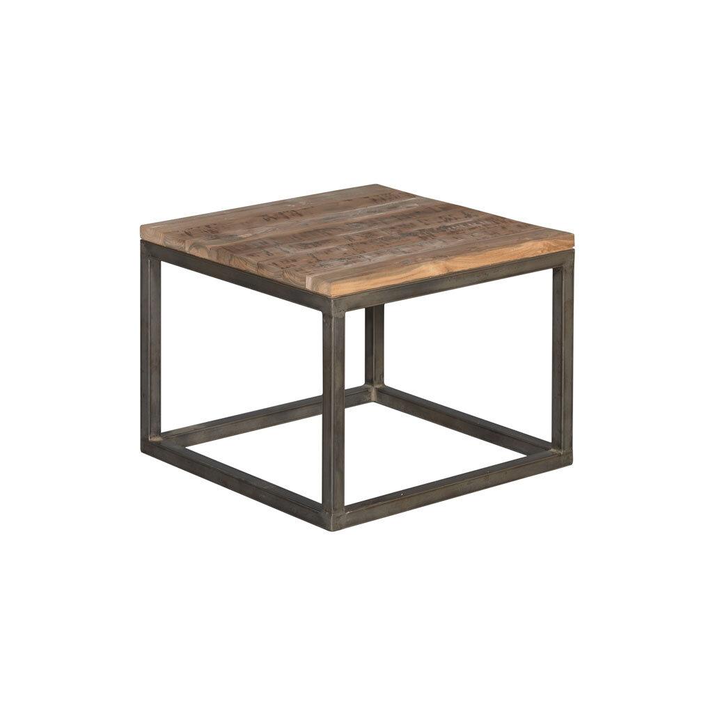 moderner couchtisch venedig massivholz teak 60 x 60 cm. Black Bedroom Furniture Sets. Home Design Ideas