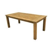 Teak Gartentisch in 10 Größen