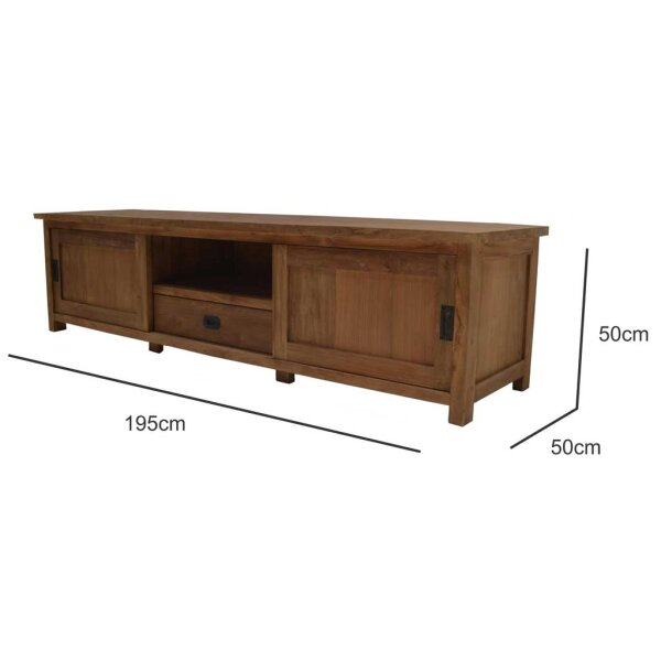 Teak TV Board Wim