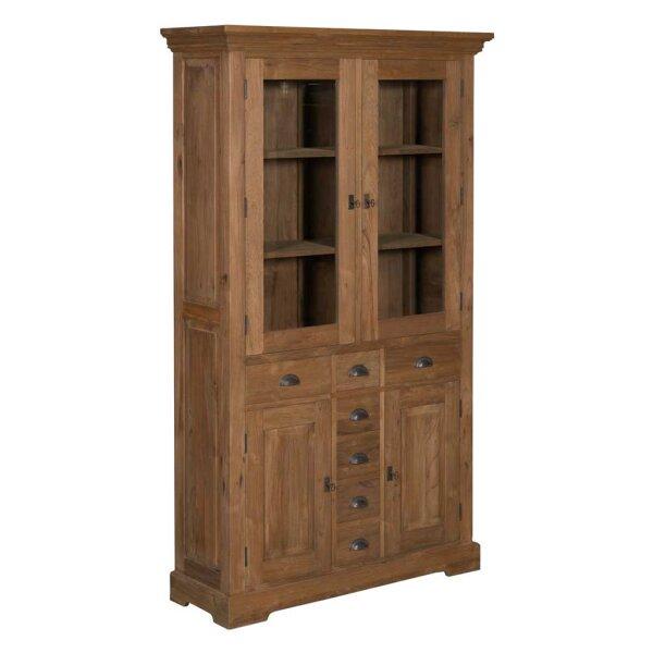 vitrine massivholz online bestellen restyle24. Black Bedroom Furniture Sets. Home Design Ideas