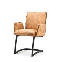 Stuhl Jolly mit Armlehne in 4 Farben