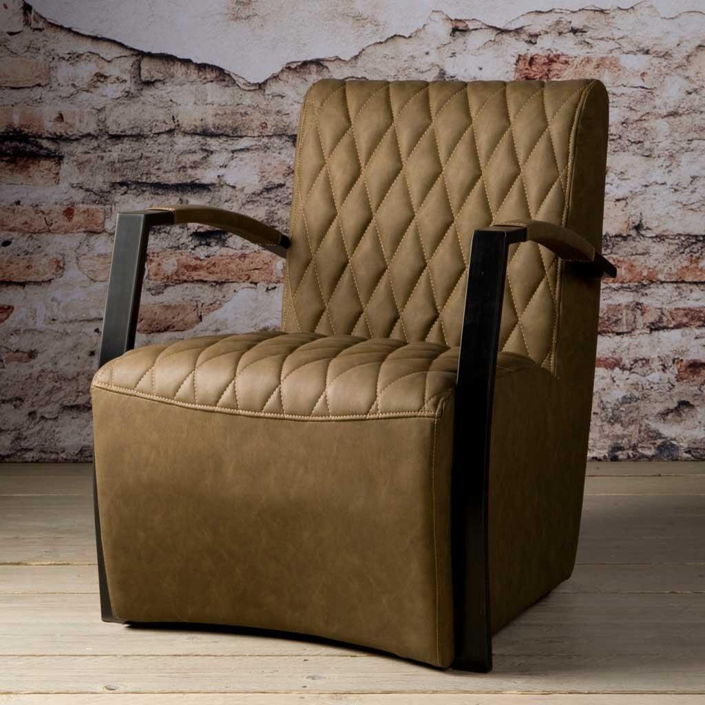 sessel leon mit armlehne restyle24. Black Bedroom Furniture Sets. Home Design Ideas