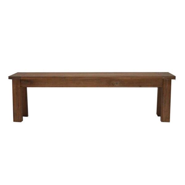 Teak Sitzbank Dingklik in 4 Größen