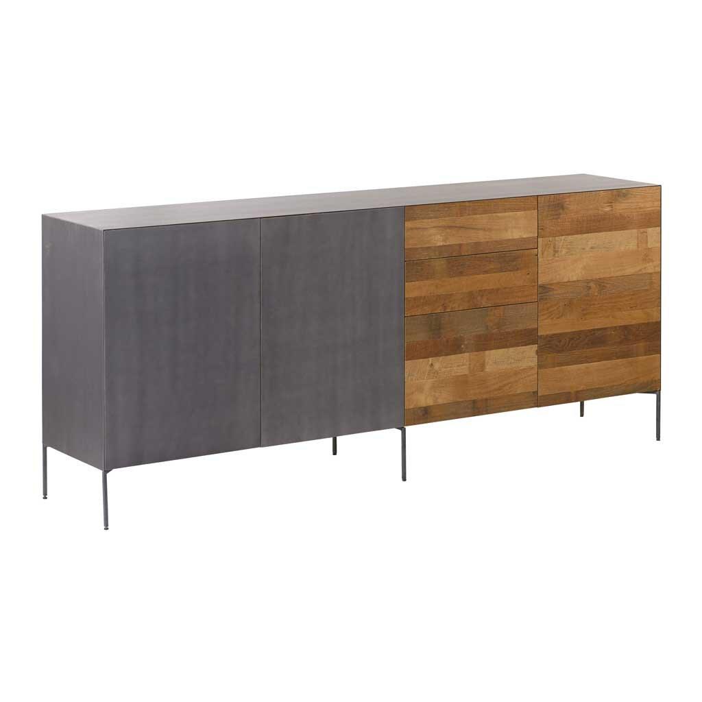 Teak sideboard pandora 220 cm restyle24 for Sideboard 220 cm
